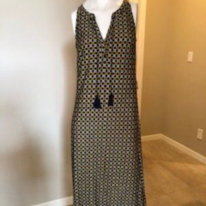 NWOT Sleeveless Maxi Dress in size S